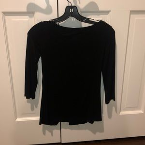 Bailey 44 lace up top